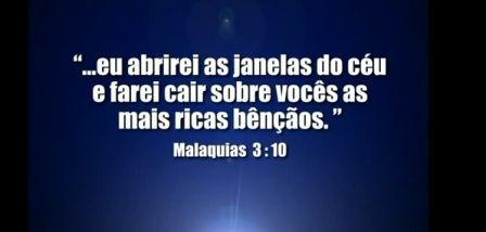 Malaquias 3, 10