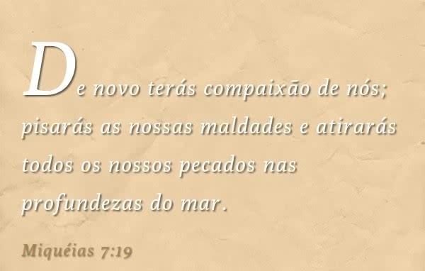Miqueias 7,19