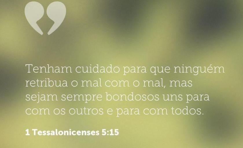 1 Tessalonicenses 5,15