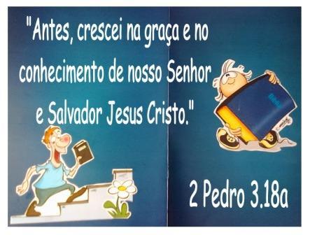 2 Pedro 3, 18a