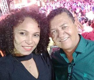 Reinaldo e esposa