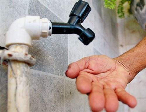 Torneira sem agua