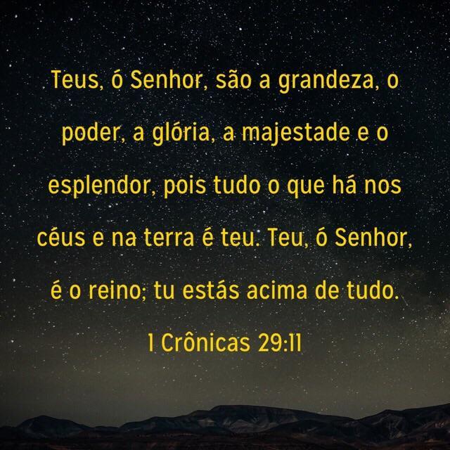 1 Cronicas 29,11