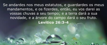 Levitico 26,3