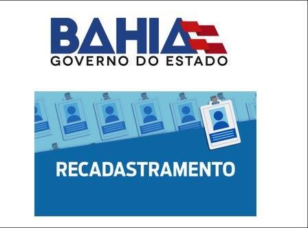 Governo da Bahia emite comunicado sobre recadastramento de servidores