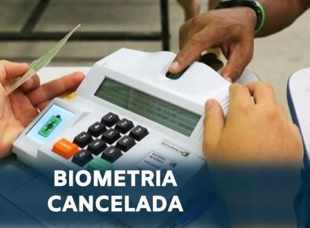 Biometria cancelada