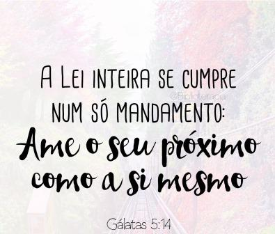 Galatas 5,14