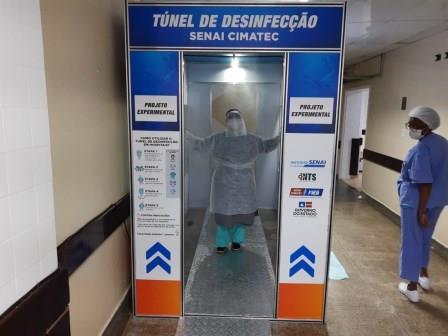 Tunel desinfecção