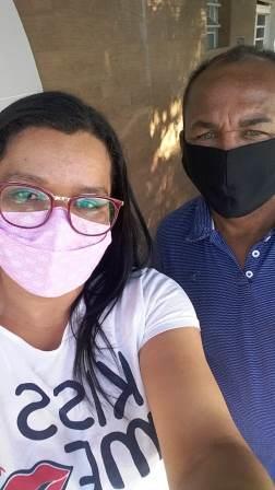 Bozó e Eliana Badeiro